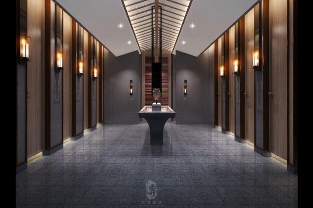 遂宁度假酒店设计公司-红专设计|锅庄温泉度假酒店