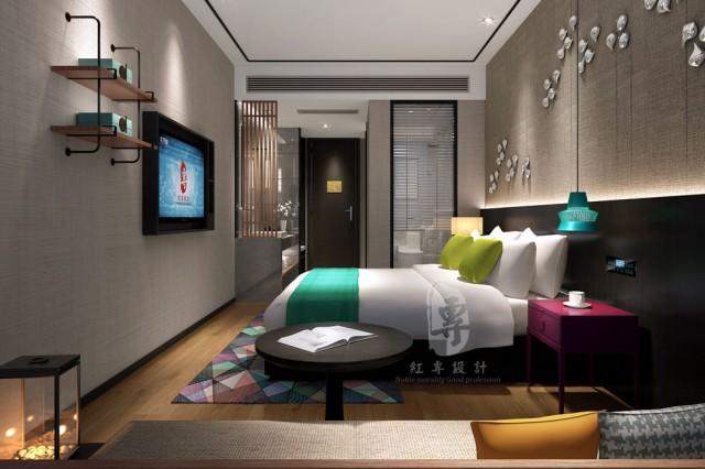 华北专业酒店设计公司—红专设计 花田里精品酒店