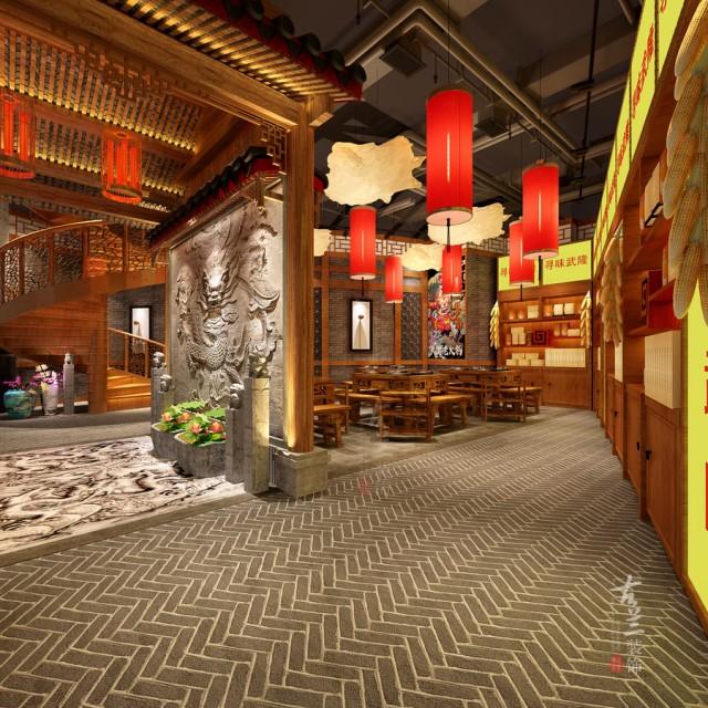 专业餐厅设计重庆特色餐厅设计