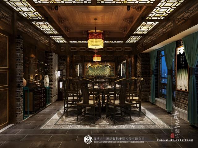 古兰装饰专业餐厅设计