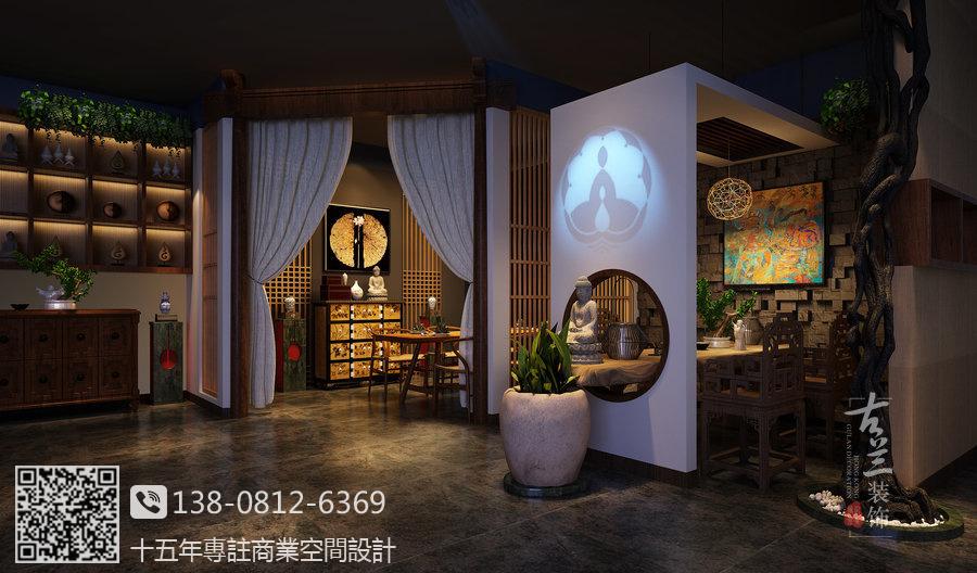 重庆专业案例设计装修之v专业赚钱室内设计优秀平面茶楼图片