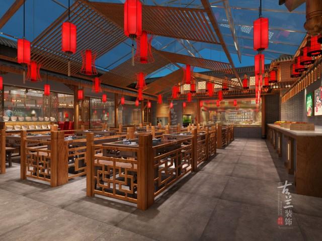项目说明:该项目位于金堂县城已经经营十年装修陈旧,客户需要翻新提高自身在当地的竞争力,因为定位是火锅+中餐的形式和装修造价,因此风格上还是提出了简单的中式风格来呈现更好的用餐环境,在翻新的基础上保存了有价值的装饰,茶店部分是打造全新的北欧风格独立的经营吸引年轻客户群体。