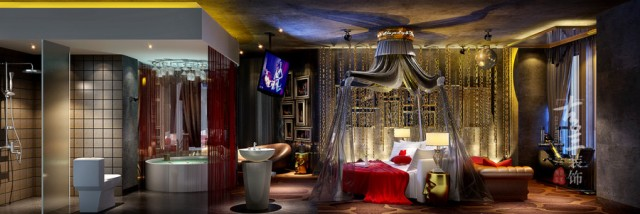 自贡酒店设计公司 交集线主题酒店项目