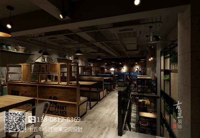 川魂冒牌货冒菜-天津连锁餐厅设计,天津连锁冒菜店设计公司