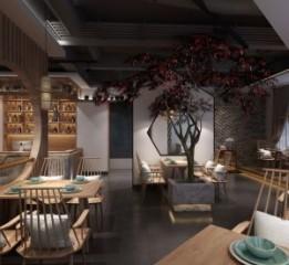 甘肃嘉峪关餐厅设计公司之蓉城小馆餐