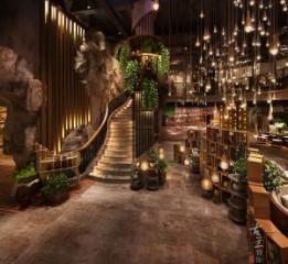 巴中自贡餐厅设计公司之温州荒石音乐