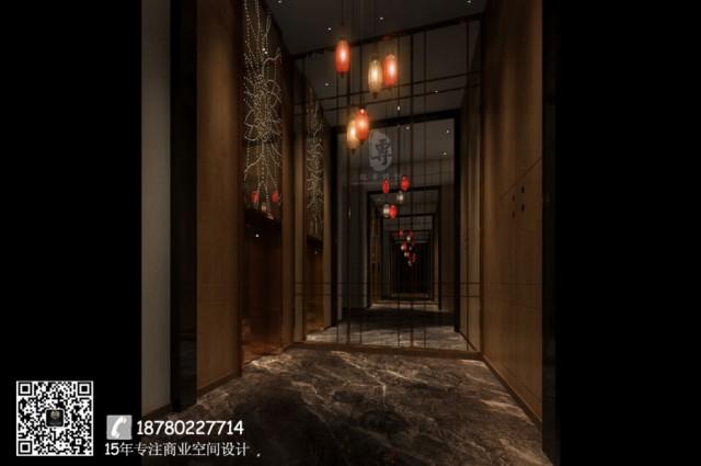 西安酒店装修效果图