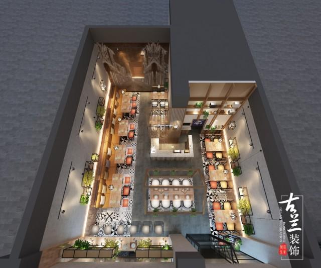 雅安一家春面馆设计,成都餐厅设计公司