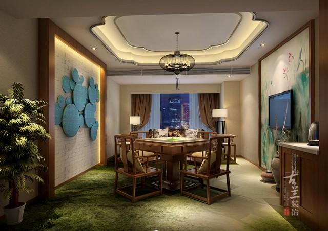 在空间布局方面,合理规划了各种房型的位置,在使客人感受到酒店文化底蕴的同时也能很方便的使用酒店的各个功能,使之感受到一种无微不至的体验,一种精致生活的理念。在材质使用方面,顶面石膏板造型与墙绘的结合使用,让整个空间的主题更加鲜明,而房间内地毯的使用又是一个亮点,在展现房间主题的同时也能很好的消音,对于喜静的客人来说是一个福音。