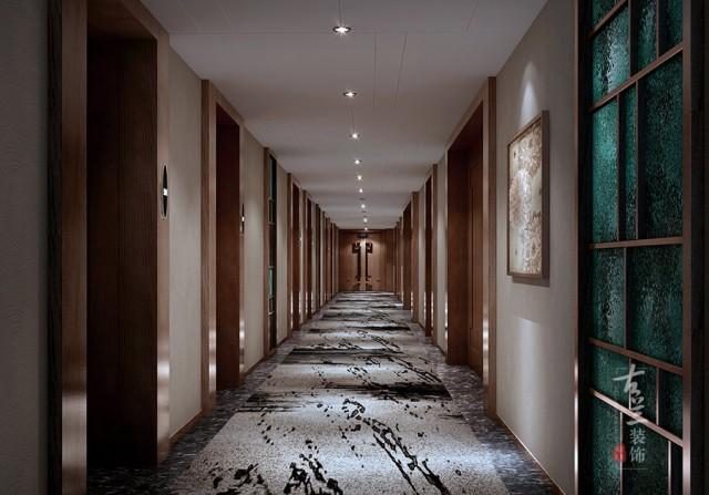 泸州商务酒店设计公司   品香四季商务酒店设计效果