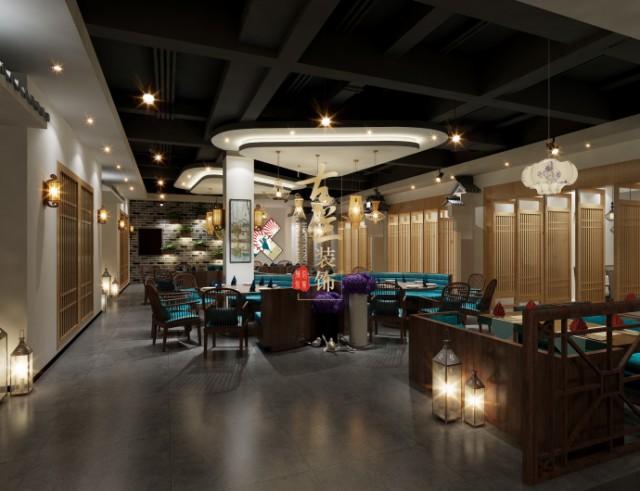 嘉峪关中餐厅设计,嘉峪关餐厅设计公司