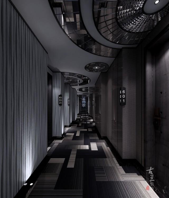 汶川主题酒店设计公司 陇南云朵假日商务酒店设计项目