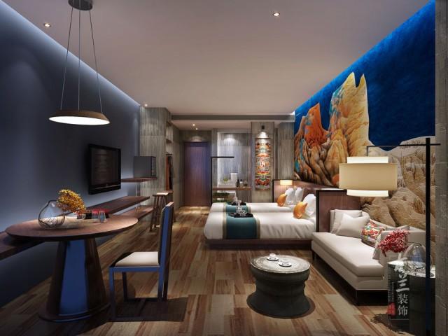 汶川精品酒店设计公司|印象精品酒店设计案例