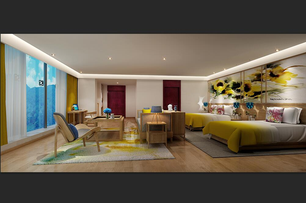 珠海民俗酒店设计公司|珠海酒店装修效果图