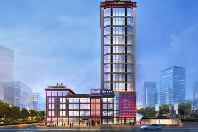 项目名称:江安上沅国际酒店。 项目地址:宜宾市江安县夕佳大道南屏首座。
