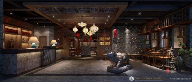 项目说明:该项目分为两层,甲方打造一家巴蜀文化传统的一家火锅店。 我们设计团队考察现场后,结合项目铺子的结构情况、针对的消费人群和甲方设计要求综合来设计。设计上大量融入飞檐,雕花,屏风以及木质元素,力求打造一家传统巴蜀火锅店。