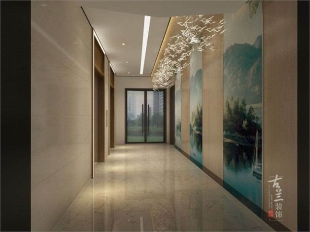 """项目说明:根据甲方对该项目的定位,为""""月牙湖风情酒店""""。针对的消费群体也多为年轻消费者为主,我们设计迎合这个主题进行打造一家主题的酒店。在室内空间布局上进行合理规划,包间上根据不同的功能要求设计有不同的主题风格元素来划分,走廊上挂画的一些元素也要选取迎合主题的打造出身临其境的意境来。"""