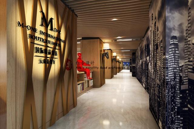 项目名称:M酒店。 项目地址:贵阳市花果园大街141号。