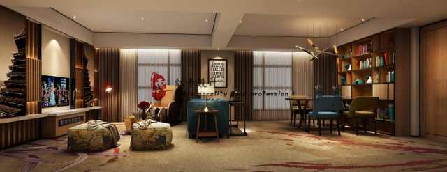 """设计说明:该酒店是在贵阳地区设计的时尚精品酒店,在该精品酒店设计中、充分的融入了贵阳的人文、自然、民族等元素,又巧妙的结合了现代人的生活方式,把文化、时尚、舒适、休闲、时尚巧妙的结合了在一起。该精品酒店设计可以给用户一种""""宾至是归""""的感受。在该精品酒店设计中、对房型开发、配置配套上做了很多的创新。并结合竞争状态,在该精品酒店设计中、充分得考虑了用户体验。"""