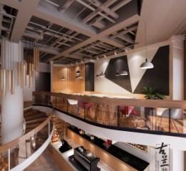 成都咖啡厅设计 香月湖咖啡厅设计效