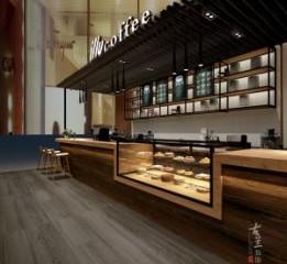 成都咖啡厅设计公司 新疆意利咖啡设