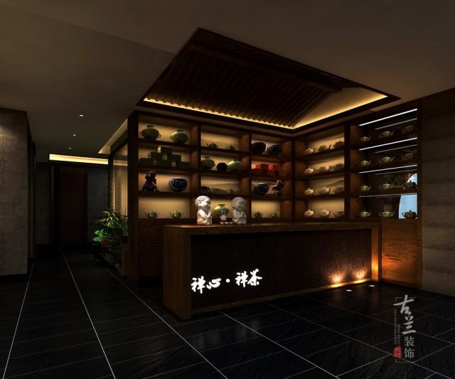 成都茶楼设计 禅心禅茶茶艺馆设计项目赏析