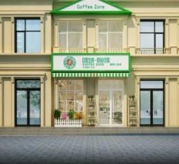 吉林咖啡厅设计公司|珲春啡域咖啡厅