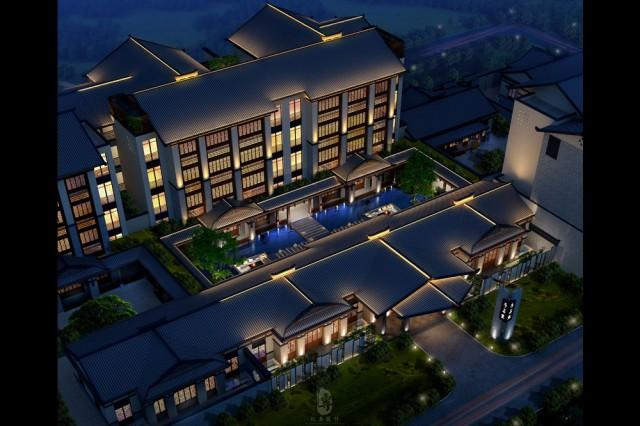 项目名称:重庆予与鱼精品度假酒店; 项目地址:重庆长寿湖湖寿南路;