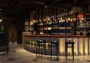 咸阳咖啡厅设计装修公司|温暖小情调