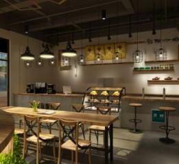 济南咖啡厅设计装修公司|轻奢咖啡厅