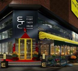 南京咖啡厅设计装修公司|工业风咖啡
