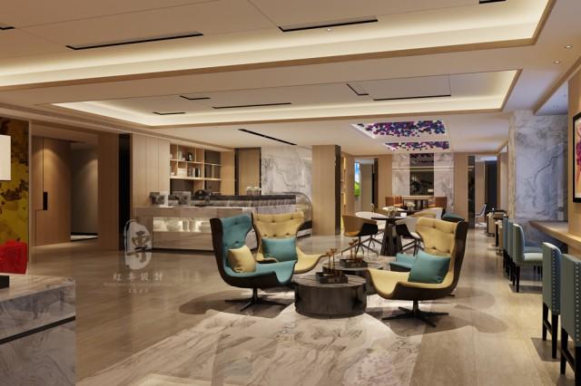项目名称:万达H和枫酒店 项目地址:资阳万达 酒店 餐饮 设计与施工就找成都古兰装饰-17311404808 设计公司:红专设计