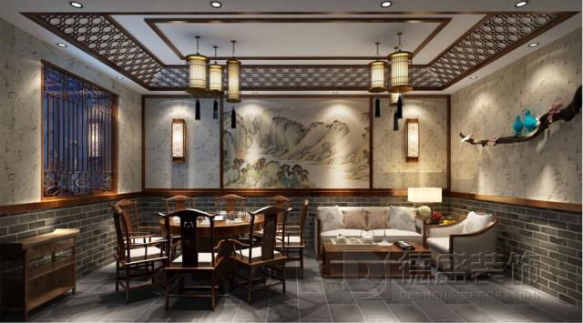 成都中式火锅店设计
