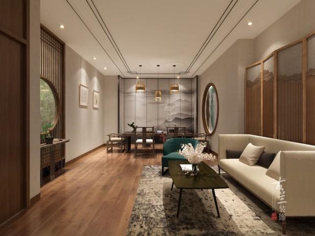 西宁茶楼设计公司|西宁设计公司—【茶楼|陈升号】设计案例
