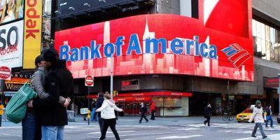 美国银行更换LOGO的相关图片