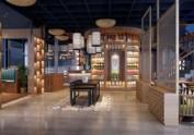 眉山花园餐厅设计装修公司|66号花园