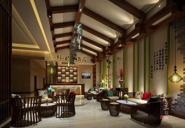 项目名称:成都子规西庭酒店 项目地址:成都市金牛区汇川街166号2栋 餐饮丨酒店丨设计和施工就找成都古兰装饰