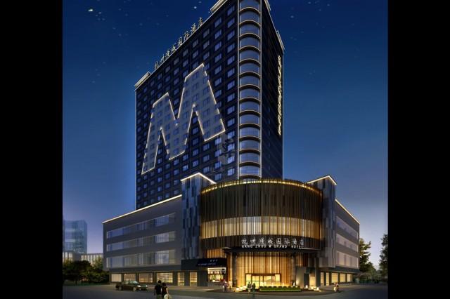 项目名称:杭州漫城国际酒店; 项目地址:杭州市余杭区北大街71号; 【贵阳酒店设计咨询:183 2852 9916<同微信>】