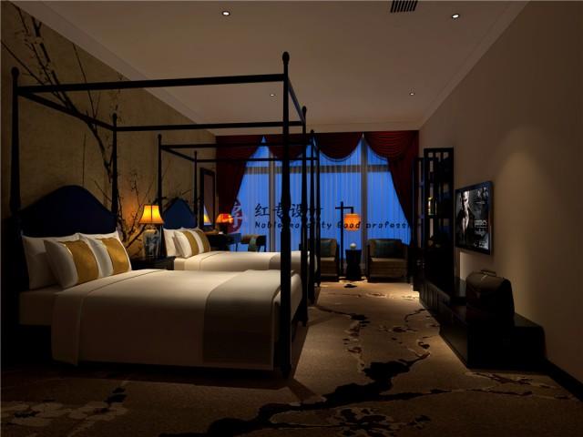 第二:格局,酒店内部的格局要注意了,藏式住宿和我们一般入住的酒店是有很大区别的,一个纯粹的藏式酒店可能就是帐篷,但是结合之后可能就是酒店内部的格局要结合帐篷的元素。
