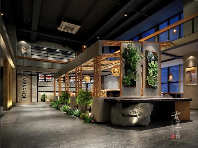 项目名称:景里火锅店。 项目地址:成都武侯区中铁骑士公馆商业体。