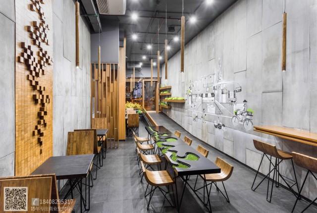 成都餐厅装修设计_成都特色快餐厅装修设计