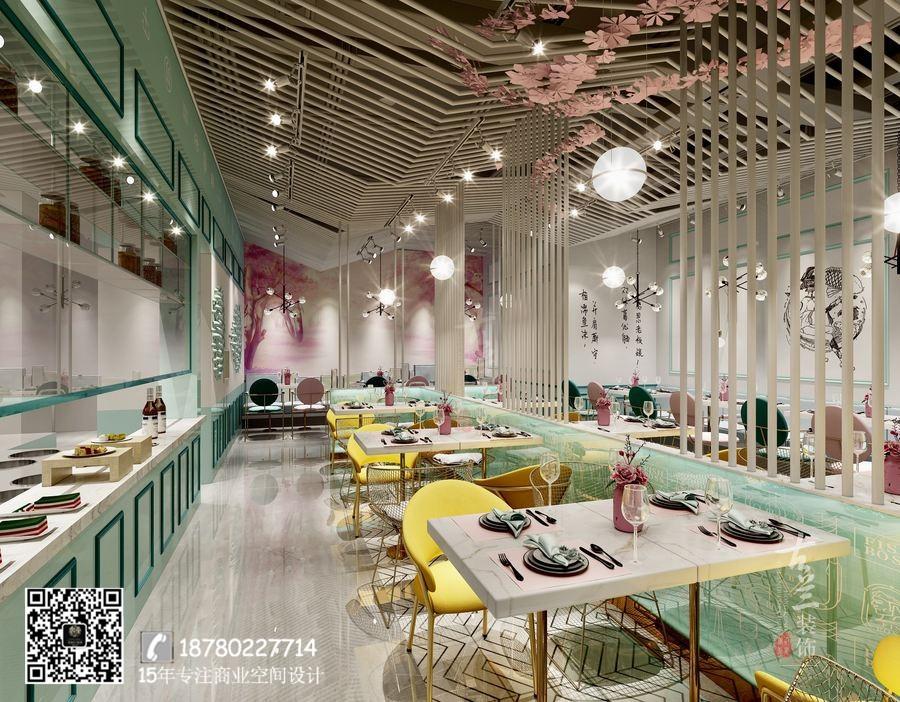 广州餐厅装修设计-鱼东家酸菜鱼餐厅设计案例