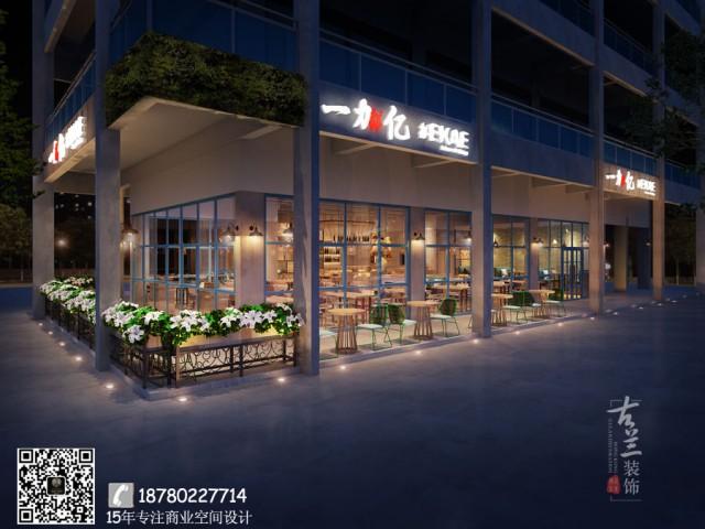长沙专业餐厅设计公司|长沙中餐厅装修|成都一加亿餐厅装修