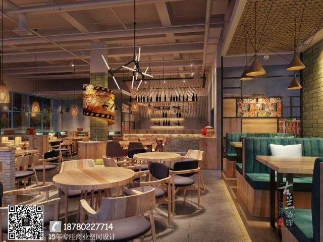 长沙餐厅设计|长沙餐厅装修效果图