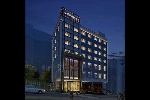 项目名称:名仕国际精品酒店; 项目地址:云南省昭通市镇雄县爱民路;
