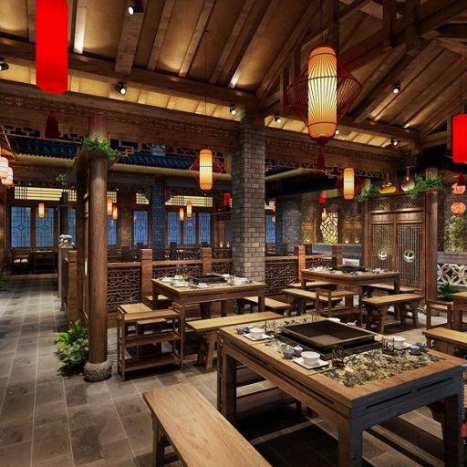 济南火锅店设计