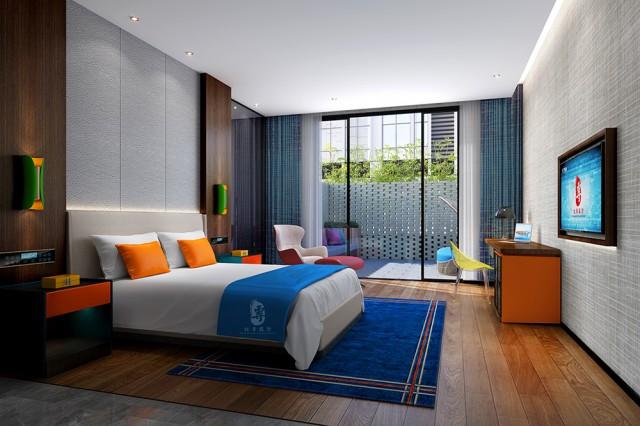 西宁酒店设计公司   江安栖嘉酒店设计案例