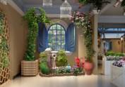 贵州花园餐厅设计装修公司|顽食花园