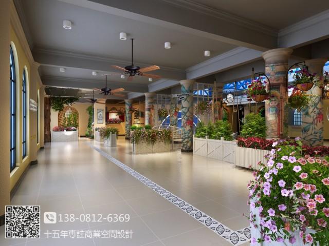 贵州花园餐厅设计装修公司 顽食花园餐厅