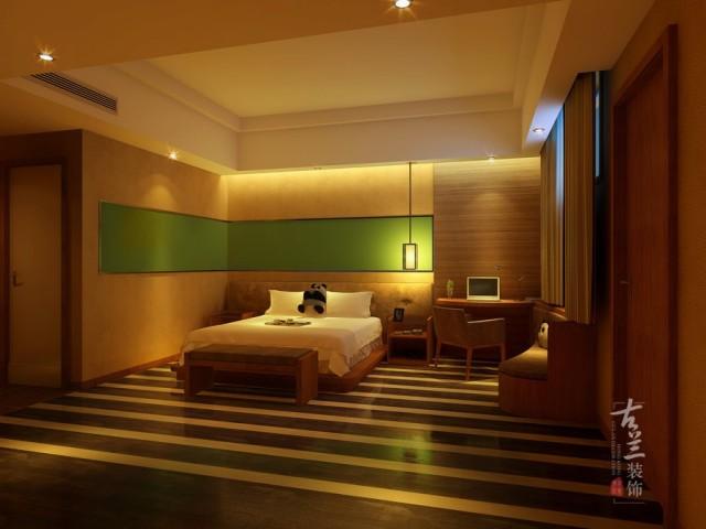 项目名称:熊猫王子酒店 项目地址:成都市春熙路米瑞广场 餐饮丨酒店丨设计和施工就找古兰装饰